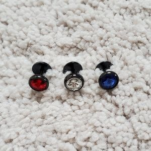 Surgical Steel Barbell Stud Earring(Single)